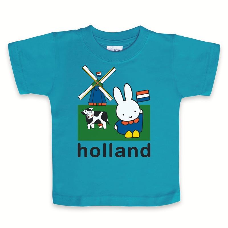Babyshower kado t-shirtje Holland