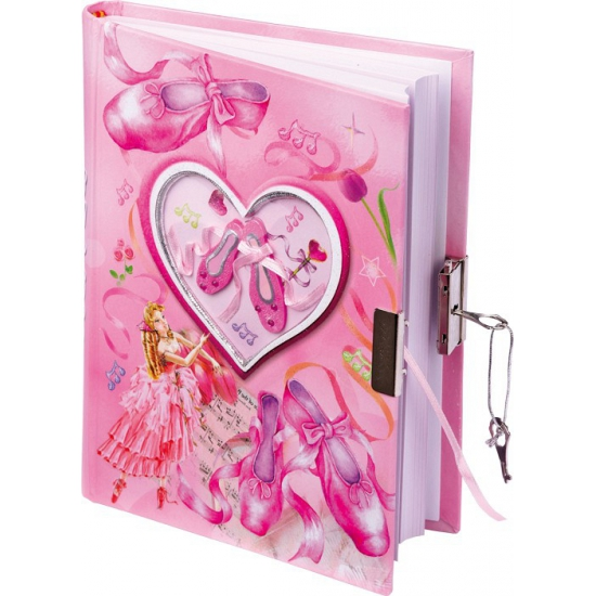 Speelgoed diversen CartoonPartner Ballerina dagboek met slot