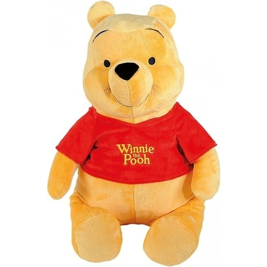 Cartoon/Disney knuffels Winnie de Poeh 80 cm