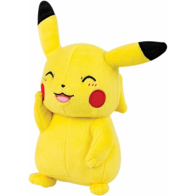 Cartoon knuffels Pikachu Pokemon geel 39 cm