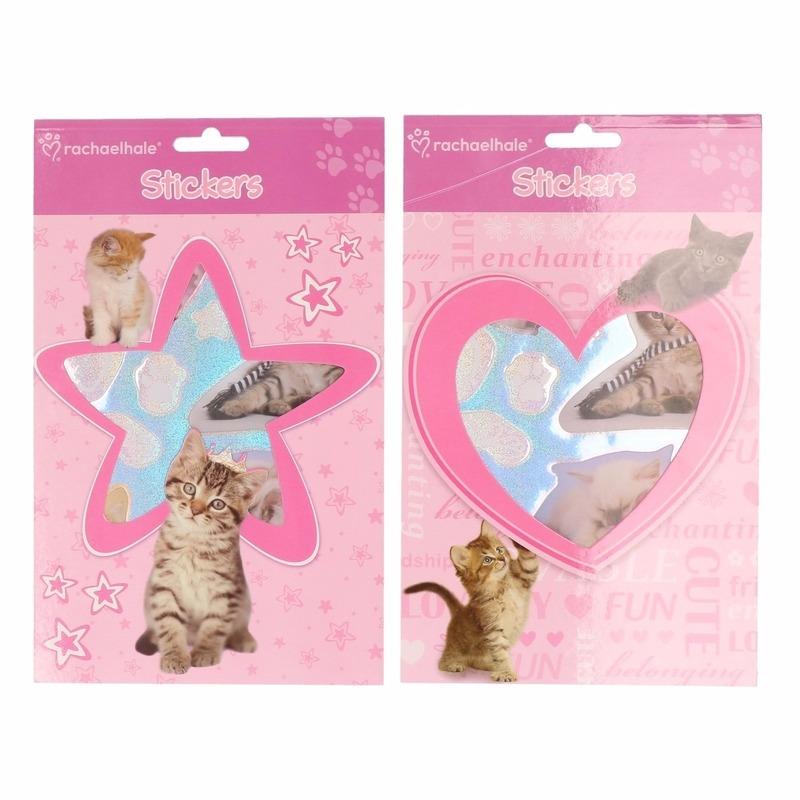CartoonPartner Dieren sticker boekje kittens Schoolspullen