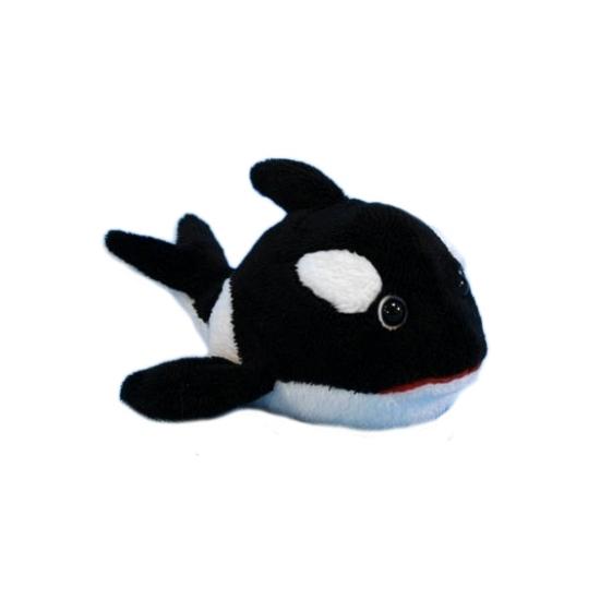 Dieren knuffels Dierenknuffel orka 13 cm