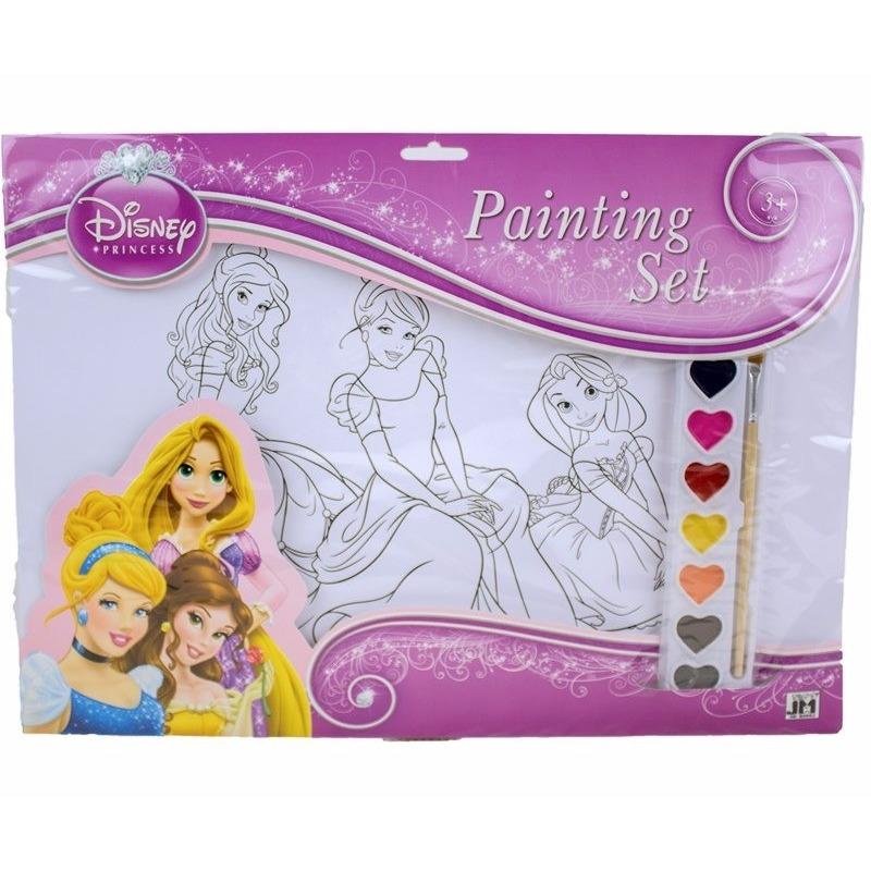 Creatief speelgoed Disney Disney A3 schilderset prinsessen type 2