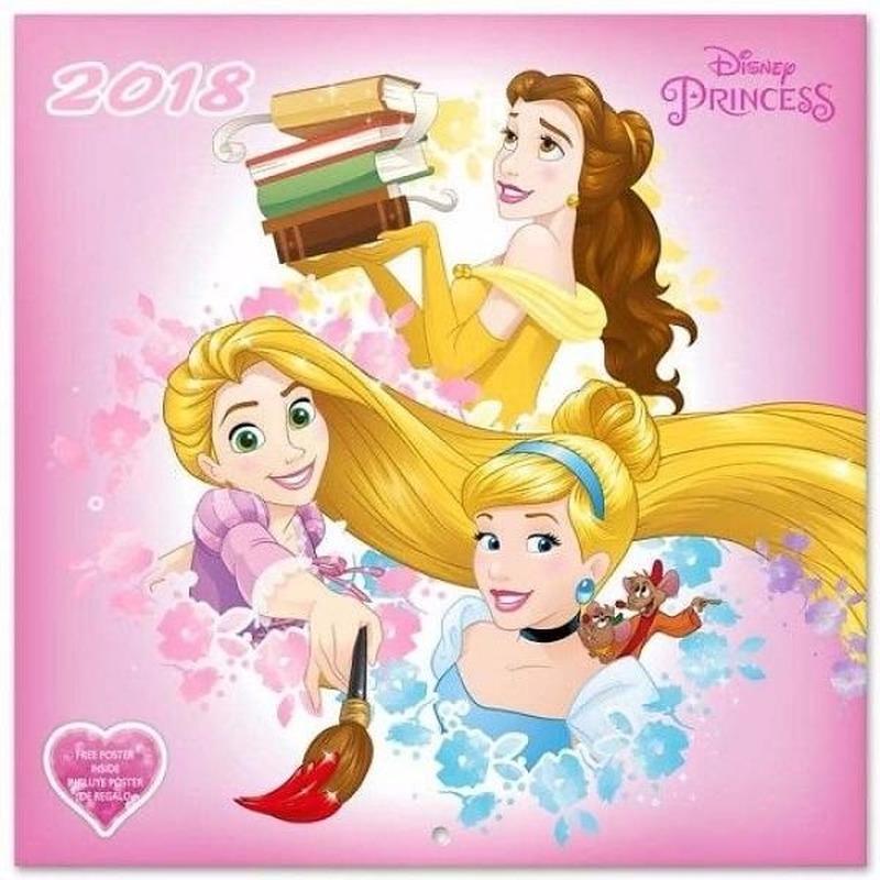 Disney Princess kalender 2018 Disney Diversen overig