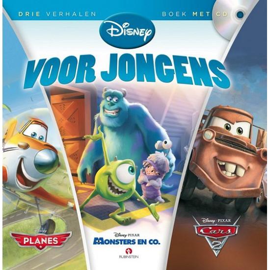 Educatief speelgoed Disney voor jongens verhaal luisterboek