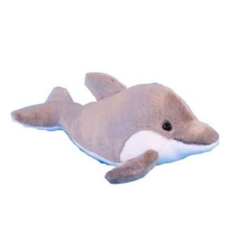 Dieren knuffels Dowman Soft Toys Dolfijnen knuffels 31 cm