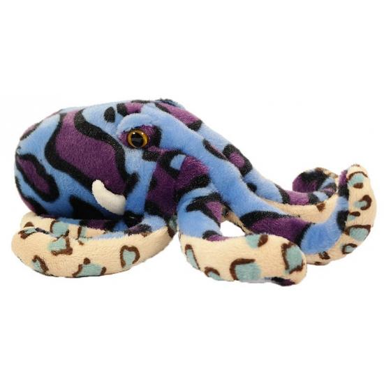 Gekleurde knuffel octopus 25 cm CartoonPartner beste