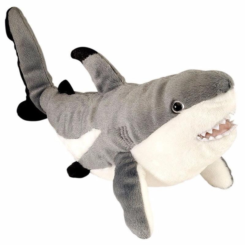 Haaien knuffels Rif haai 30 cm