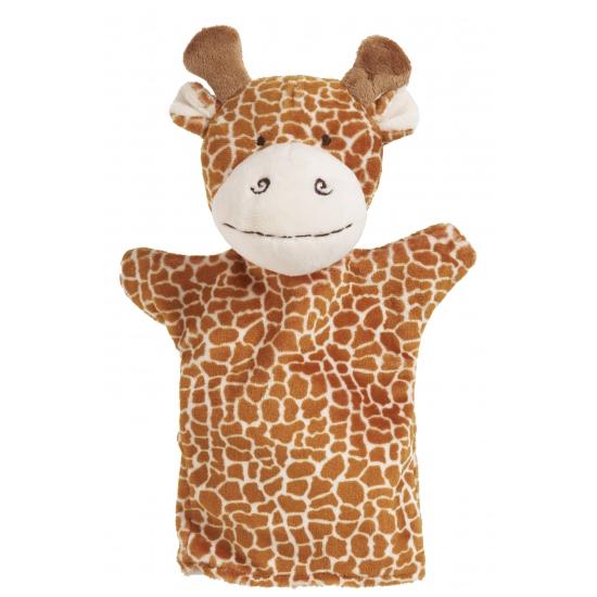 Handpoppen CartoonPartner Handpop giraffe 23 cm