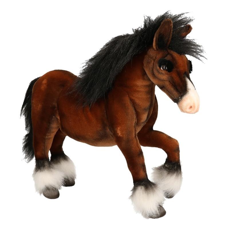 26e529312dcc21 Hansa pluche paard knuffel 50 cm | Paarden knuffels artikelen