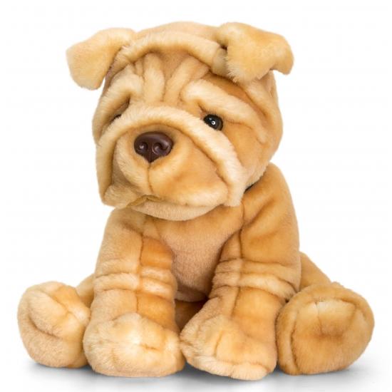Honden knuffel Shar-Pei 35 cm