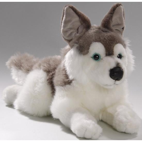 Husky honden knuffels 30 cm