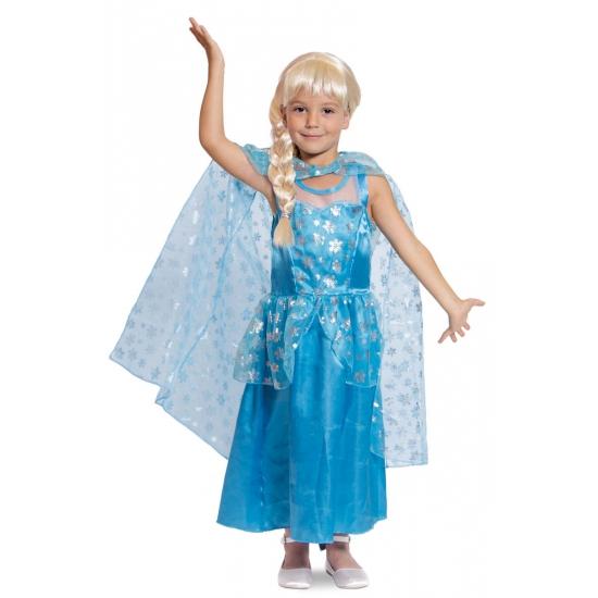 Ijsprinses jurk blauw