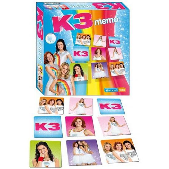 K3 memory familiespel