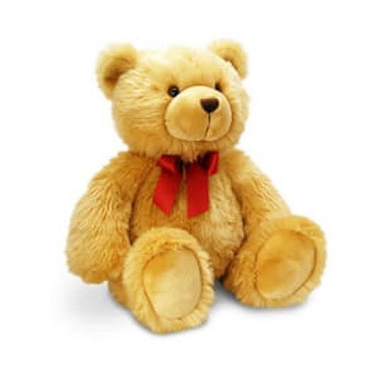 Keel Toys grote pluche knuffelbeer knuffel Harry bruin 50 cm