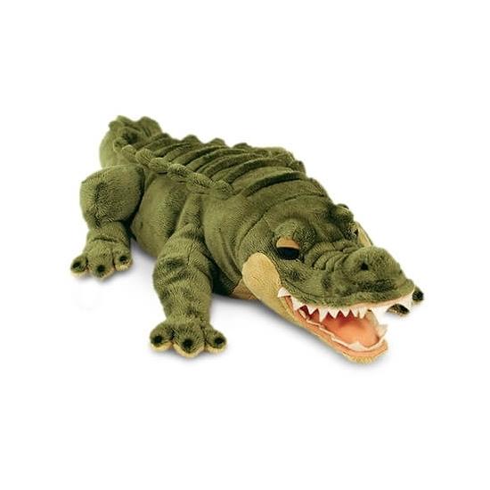 Dieren knuffels Keel Toys Keel Toys pluche alligator krokodil 45 cm
