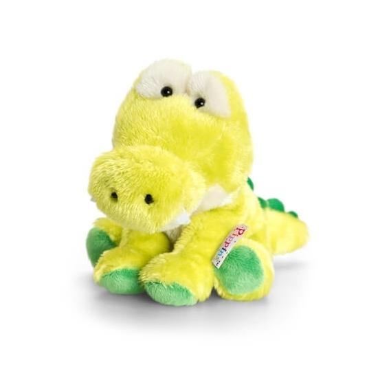 Keel Toys pluche krokodil knuffel zittend 14 cm Keel Toys laagste prijs