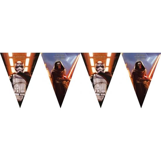 Kinderverjaardag Star Wars vlaggenlijn 2 meter