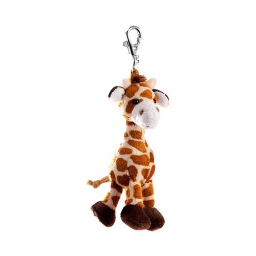 Pluche sleutelhangers CartoonPartner Klein giraffe knuffeltje 10 cm