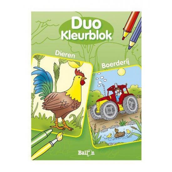 Kleurboek dieren Geen Creatief speelgoed