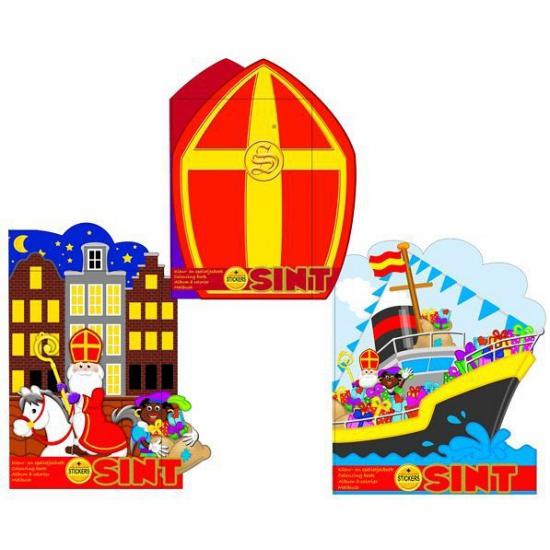 Creatief speelgoed Geen Kleurboek Sinterklaas stoomboot