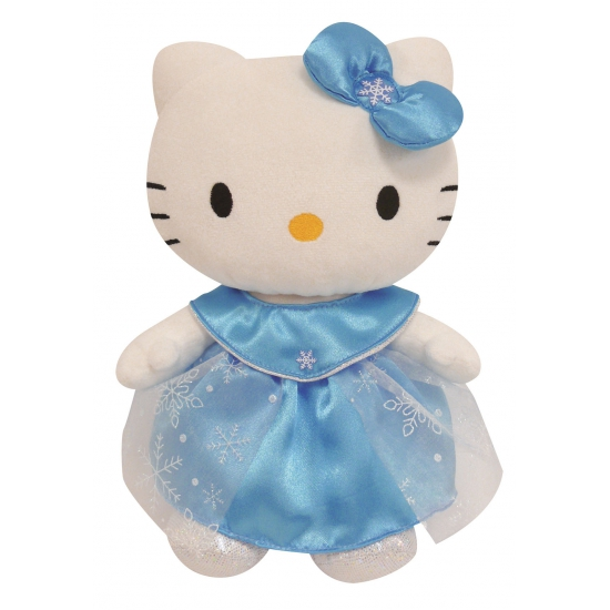 Knuffel Hello Kitty in Elsa jurk