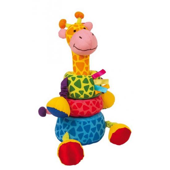 Dieren knuffels CartoonPartner Knuffel insteek giraffe 24 cm