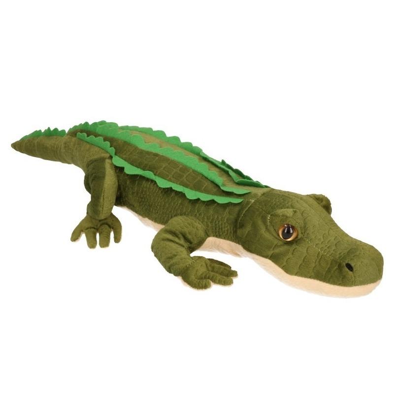 Dieren knuffels Knuffel krokodil 70 cm