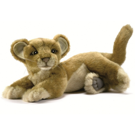 Knuffel leeuwen welp 26 cm