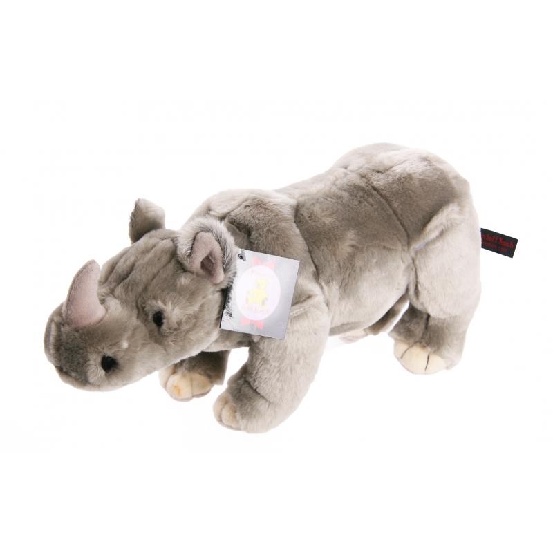 Dieren knuffels Knuffel neushoorn 36 cm