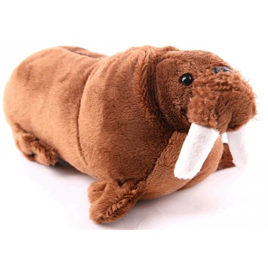 Knuffel walrus bruin 21 cm CartoonPartner Goedkoop