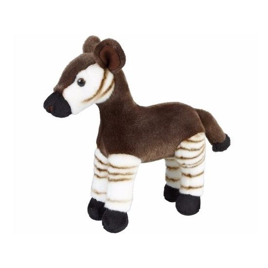 Dieren knuffels CartoonPartner Knuffelbeesten Okapi staand 28 cm