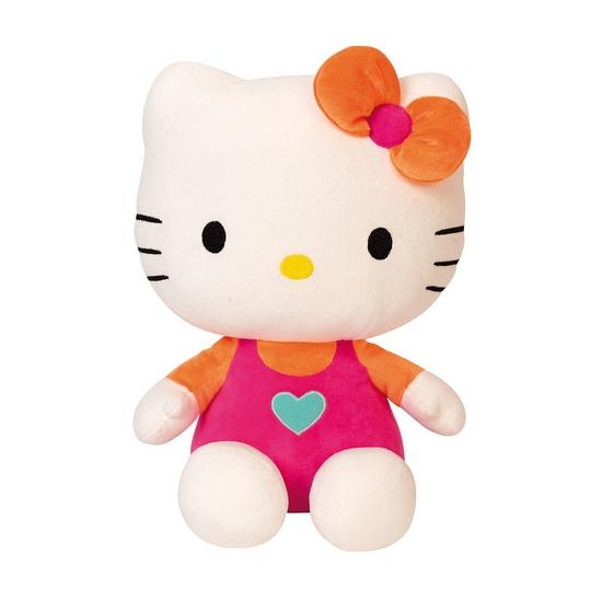 Knuffeldier Hello Kitty roze 30 cm