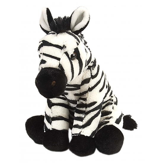 Dieren knuffels Wild Republic Knuffeldier zebra 30 cm