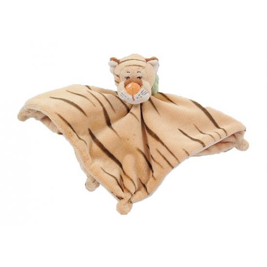 Knuffeldoek tijger 25 cm CartoonPartner Baby kado knuffels
