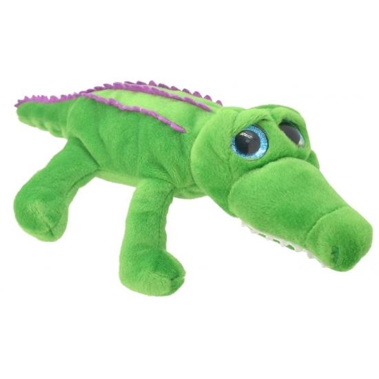 Dieren knuffels Krokodil knuffeltje 36 cm