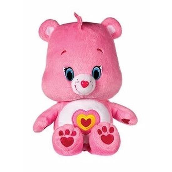 Licht roze Care Bears knuffel 22 cm