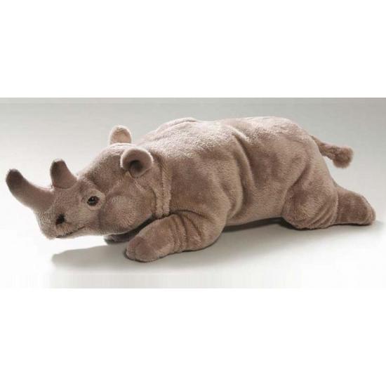 Liggende pluche knuffel neushoorn 30 cm CartoonPartner voordeligste prijs