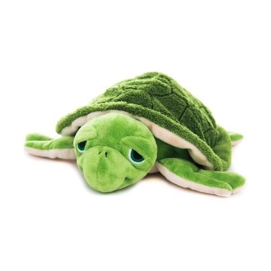 CartoonPartner Magnetron groene schildpad knuffeldier Magnetron knuffels