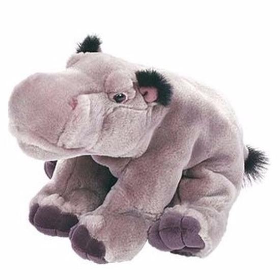Nijlpaardjes knuffeltje van 30 cm
