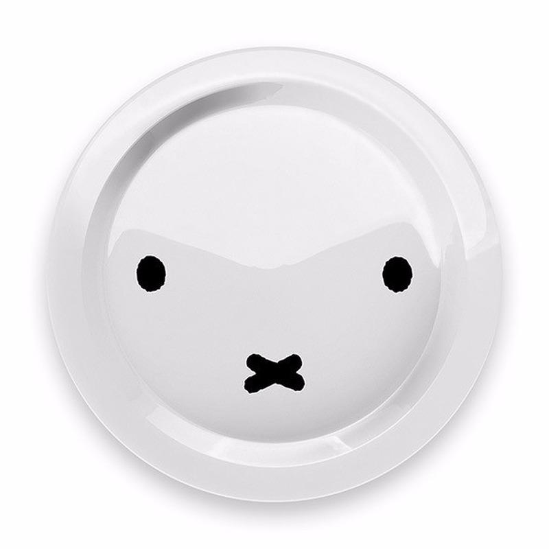 Ontbijtbordje Nijntje snoet rond 21 cm