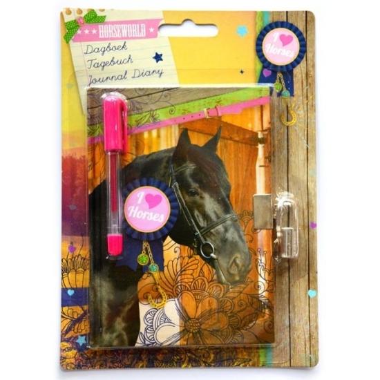 Speelgoed diversen Paarden dagboek met slot