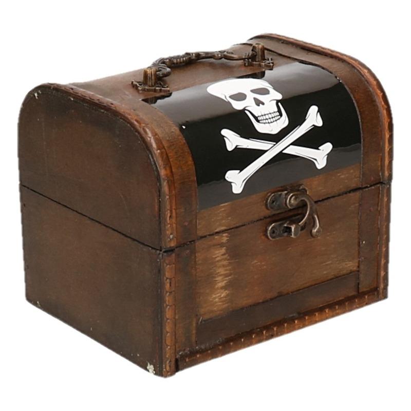 Piraten schatkistje 15 cm