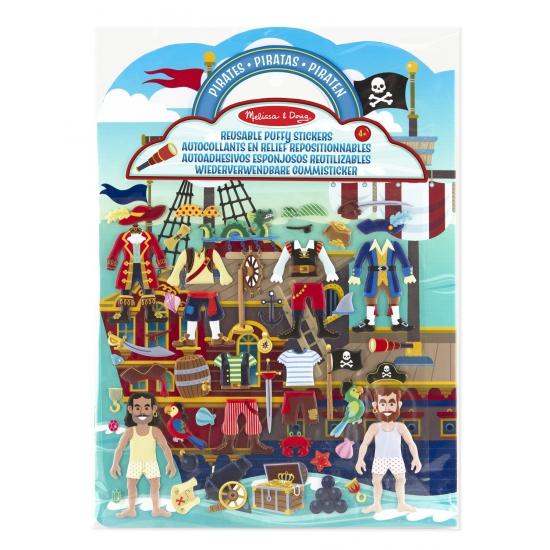 Creatief speelgoed Piraten stickerboek