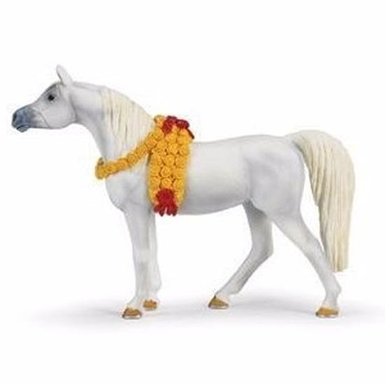 Speelfiguren sets Safari LTD Plastic Arabier paard merrie 14 cm