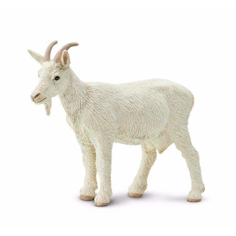 Safari LTD Plastic witte geit 8 cm Speelfiguren sets
