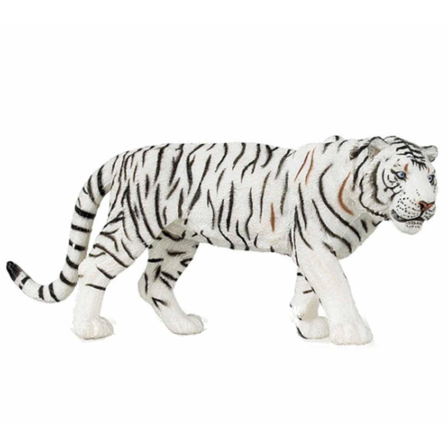 Speelfiguren sets CartoonPartner Plastic witte tijger 15 cm