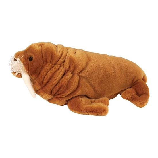 Dieren knuffels Wild Republic Pluche knuffeldier walrussen 30 cm