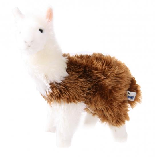 Pluche lama knuffels van 28 cm