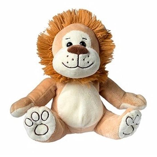 Pluche leeuw knuffel 21 cm Geen Dieren knuffels